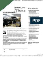 Houston Dem Precinct Chair Stop Gun Violence by Shooting NRA Me