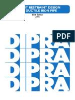 DIPRA Thrust Restraint Design