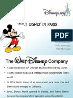 Walt Disney in Paris