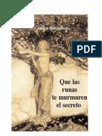 89599443 Que Las Runas Te Murmuren El Secreto
