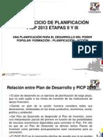 PICP 2013 desarrollo de la metodología