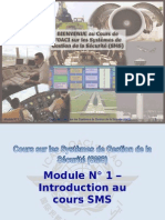 OACI SMS Module N° 1 – Introduction Au Cours SMS 2008-11 (PF)