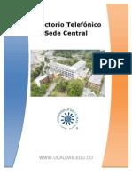 Directorio interno Universidad de caldas