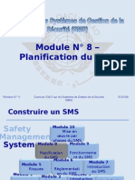 OACI SMS Module N° 8 – Planification Du SMS 2008-11 (PF)