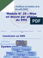 OACI SMS Module N° 10 – Mise en œuvre Par Phases Du SMS 2008-11 (PF)