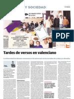 25 anys de La Naia i La Revolica - Article de LA VERDAD - 13-12-2012