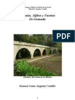 Acequias, Aljibes y Fuentes