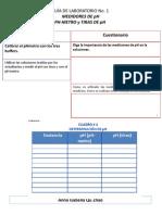 flujograma de MEDIDORES DE pH PH-METRO y TIRAS DE pH