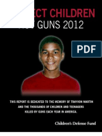 Protect Children Not Guns 2012 2