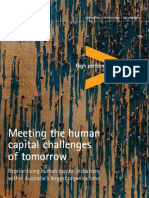 Meeting the Human Capital Challenges of Tomorrow