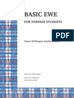 Basic Ewe for foreign students
