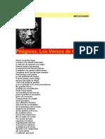 Versos Pitagoricos
