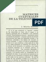 Martin Barbero Matrices_culturales de La Telenovela