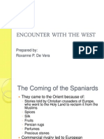 Encounter With the West