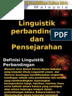 13284917 Topik 1 Linguistik Perbandingan Dan Pensejarahan