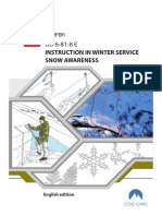 UD 6-81-8 E Instruction in Winter Service - Snow Awareness (2011)