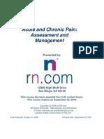 Pain Document