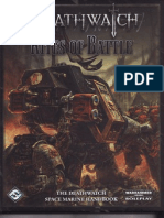 WH40K RPG Deathwatch Rites of Battle
