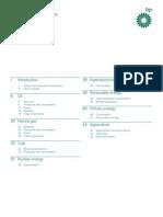 BPstatistical Review of World Energy Full Report 2012