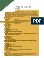 Contoh Kasus Pasien Hipertensi Dan Penatalaksanaannya
