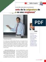 Entrevista Mundo Cristiano a Antonio Amate 2009