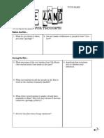 wasteland worksheet