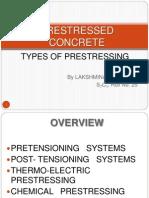 Presentation on Systems of Prestressing