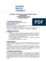 Teleco teaching guide
