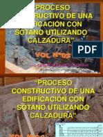 Vol.01 Proceso Constructivo de Una Edificacion Con Sotano, Utilizando Calzaduras