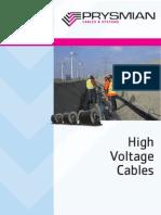 Prysmian HVC LR 220kV Cable