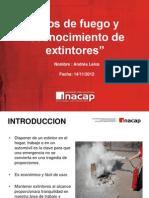 tipos de extintores (presentación breve )