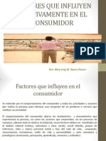 Factores Que Influyen Positivamente en El Consumidor. Mey-ling Ibarra