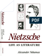 Nietzcshe Life as Literature