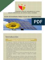 Manual de Buenas Practicas en Innovacion