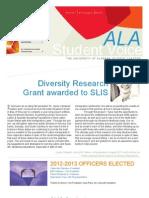 ALA Student Voice 9.1 2012