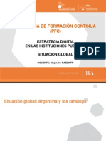 Situación global (Argentina, mundo)