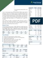 Market Outlook 19th Dec 2012