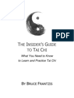 Insiders Guide to Tai Chi by Bruce Frantzis