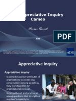 An Appreciative Inquiry Cameo