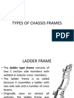 types of chassis frames