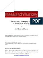 ResearchTurkey Interpreting Emerging Finance Capitalism in Turkey Dr. Thomas Marois1