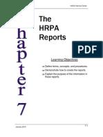 SAP PA Reports