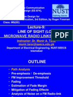 Microwave communication system design