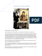Elder Porphyrios-''I Don't Like to Prophesy''