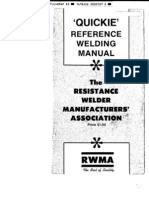 Resistance Welding Manual (RWMA)