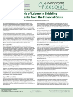 The Role of Labour in Shielding Mexican Banks from the Financial Crisis