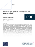 Henn and Foard - Young People, Political Participation and Trust in Britain