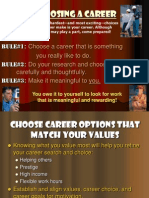 PPT ON CAREER PLANNING