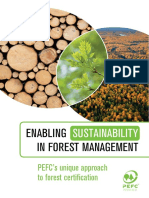Enabling Sustainability in Forest Management - PEFC's Unique Approach to Forest Certifiction