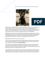 Elder Ephraim of Arizona's Testimony Concerning the Marble King John